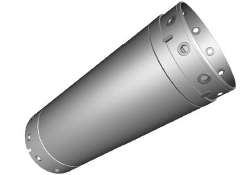 Casing pipe Ø 620 mm / 4 meters Armador