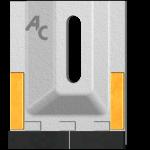 Scraper Amazone GAM 0085 with TC plate