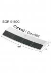Weld on point BOR 0180C  (40x180x12 mm)