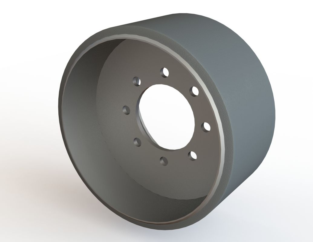 Midwheel John Deere polyurethane 8xxxRT series