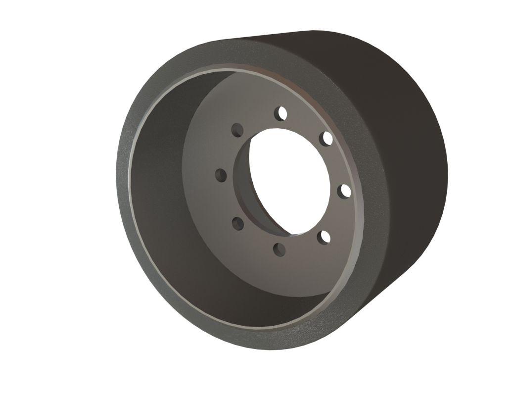Midwheel John Deere polyurethane 9xxxRT series