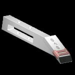 Subsoiler blade Askel with TC plate BDS 7050-S + extra hardfacing