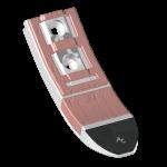 Cultivator point Horsch with TC plate SCH0080C-R