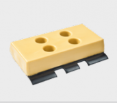 Polyuretane track pads size BS4/350 mm (set)
